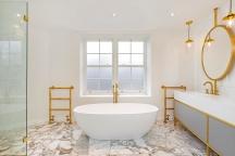 Richmond Green, master bathroom